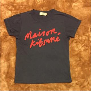 MAISON KITSUNE' - メゾンキツネ    Tシャツ ネイビー