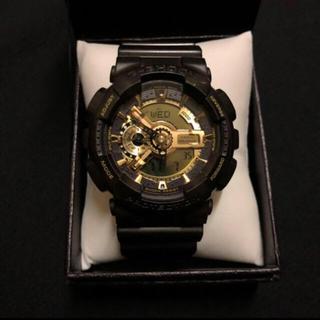 ジーショック(G-SHOCK)のG-SHOCK 5146 GA-110BR 茶&金(腕時計(デジタル))