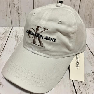 カルバンクライン(Calvin Klein)の新品 カルバンクライン CALVIN KLEIN  ロゴ キャップ(キャップ)