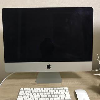 マック(Mac (Apple))のApple iMac 21.5inch,late2015(デスクトップ型PC)