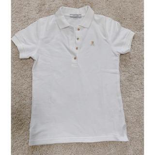 マークアンドロナ(MARK&LONA)のMARK&LONA マーク&ロナ レディース 白ポロシャツ ゴルフウェア(ウエア)
