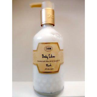 サボン(SABON)のサボン ボディーローション ムスク《未使用》(ボディローション/ミルク)