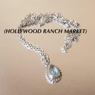 ハリウッドランチマーケット(HOLLYWOOD RANCH MARKET)の🔴 ハリウッドランチマーケット925シルバーストーンネックレス(ネックレス)