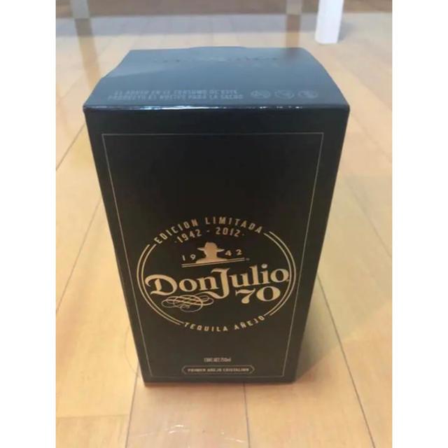 【新品未開封】メキシコ 高級テキーラ ドンフリオ70 食品/飲料/酒の酒(その他)の商品写真