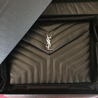 Saint Laurent - 新品未使用 サンローランパリ クラッチセカンドバッグ 長財布ミニ折レザー ケース