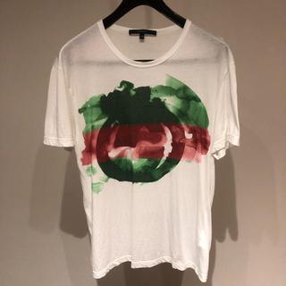グッチ(Gucci)のgucci Tシャツ xsサイズ グッチ トップス(Tシャツ/カットソー(半袖/袖なし))