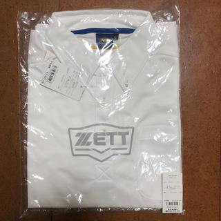 ゼット(ZETT)の【新品未使用】ZETT ネオステイタス ポロシャツ(ポロシャツ)