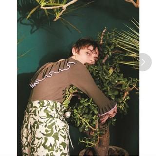 ミラオーウェン(Mila Owen)のミラオーウェン♡ボタニカル 花柄 ショートパンツ♡リネン(ショートパンツ)