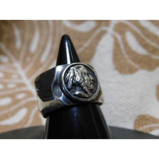 SAAD インディアン コンチョ リング 14号 シルバーリング(リング(指輪))