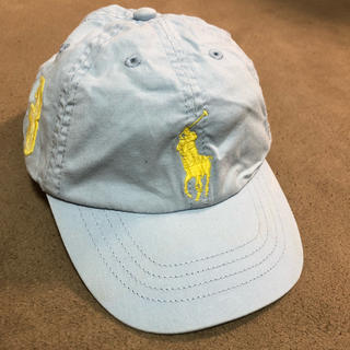 ポロラルフローレン(POLO RALPH LAUREN)のラルフローレン キッズ キャップ ビックポニー クリーニング済み(帽子)
