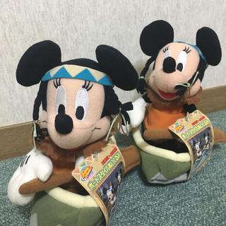 ミニーマウス(ミニーマウス)のDisney2002*ボートスタイルミニー2体(キャラクターグッズ)