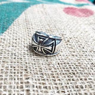 Silver925 アイアンクロス シルバー リング 指輪(リング(指輪))