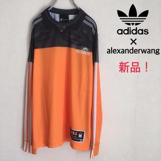 adidas × alexander wang コラボ ロンT ゲームシャツ
