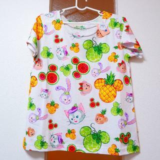 ダッフィー(ダッフィー)の香港ディズニー限定!ダッフィーフレンズ フルーティサマー TシャツM(Tシャツ(半袖/袖なし))