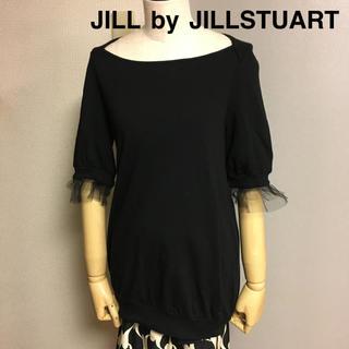 JILL by JILLSTUART - 【JILL by JILLSTUART】ジルスチュアート チュール半袖カットソー