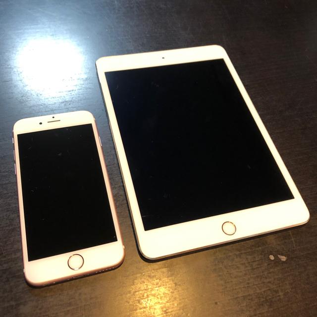 Apple(アップル)のiPhone6s 32GB iPad mini4 16GB セット スマホ/家電/カメラのスマートフォン/携帯電話(スマートフォン本体)の商品写真