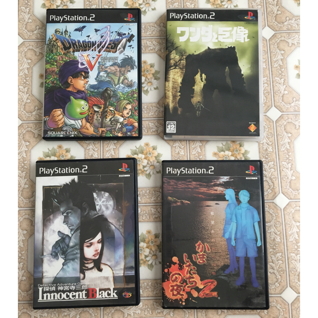 PlayStation2(プレイステーション2)のps2ソフト 4本セット もんべつ様専用 エンタメ/ホビーのゲームソフト/ゲーム機本体(家庭用ゲームソフト)の商品写真
