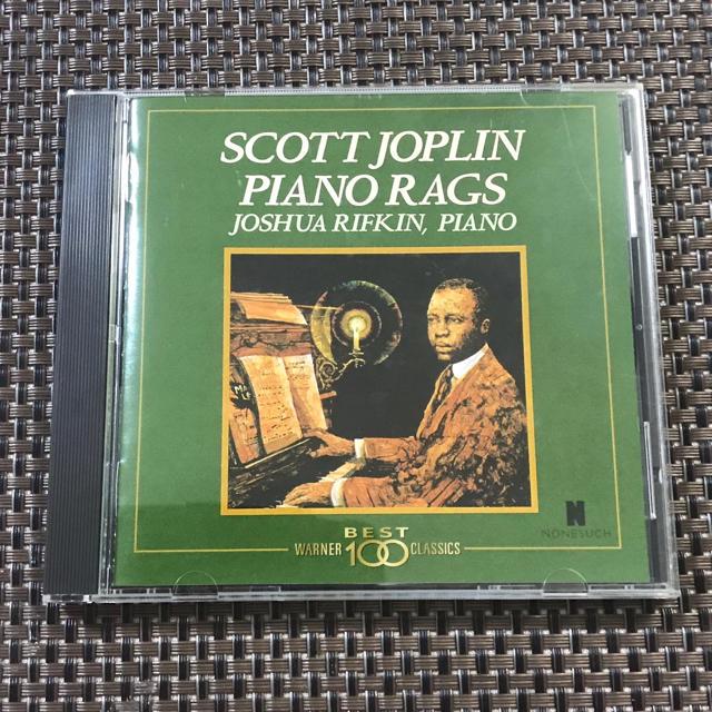 スコットジョプリン  ピアノラグズ  CD♪︎まとめ引きあります エンタメ/ホビーのCD(ジャズ)の商品写真