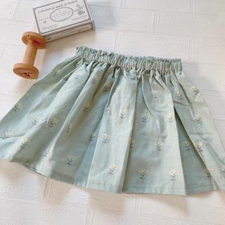 最終SALE   85  ギャザースカート ハンドメイド