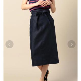 ビューティアンドユースユナイテッドアローズ(BEAUTY&YOUTH UNITED ARROWS)のBEAUTY&YOUTHサッシュベルトタイトスカート(ひざ丈スカート)