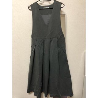 ケービーエフ(KBF)のKBF プリーツジャンパースカート 2500円→2200円に値下げ(ロングスカート)