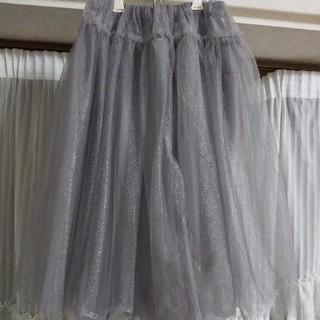 レディアゼル(REDYAZEL)のチュールスカート美品!週末お値下げ中(✯ᴗ✯)(ひざ丈スカート)