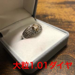 【クリスマス価格12/25まで】1カラット ブラウンダイヤモンド リング(リング(指輪))