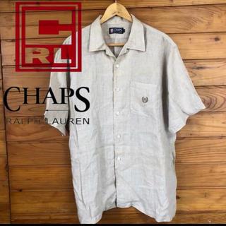 チャップス(CHAPS)のA      美品♡チャップス ラルフローレン 激レア‼︎ 麻100%(シャツ)