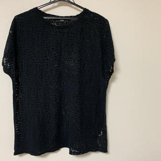 ディーゼル(DIESEL)のDIESEL ブラック シースルーTシャツ(シャツ/ブラウス(半袖/袖なし))