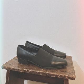 ロキエ(Lochie)のレザー コンビ シューズ(ローファー/革靴)