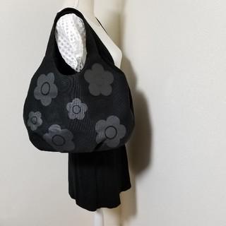 マリークワント(MARY QUANT)のMARY QUANT 花柄トートバッグ ハンドバッグ マザーズバッグ(トートバッグ)
