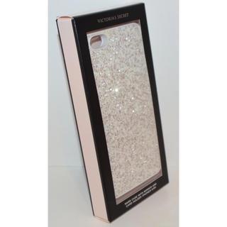 ヴィクトリアズシークレット(Victoria's Secret)のヴィクシー VS iPhone6/6S ケース ミラーグリッター ホワイト 白(iPhoneケース)
