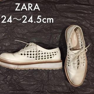 ZARA - ZARA オックスフォードシューズ 40