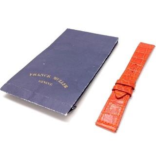 FRANCK MULLER - フランク ミュラー 950/952用 純正品 ベルト オレンジクロコ革