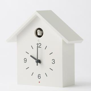 MUJI (無印良品) - 無印良品 ハト時計 鳩時計 大