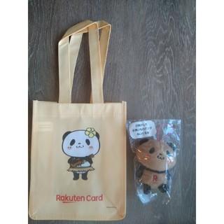 Rakuten - 楽天パンダハワイ限定!エコバッグと日焼けしたパンダぬいぐるみ🐼