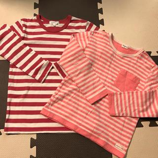 サンカンシオン(3can4on)の3can4on ボーダーTシャツ&コンビミニ ボーダーTシャツ(Tシャツ/カットソー)