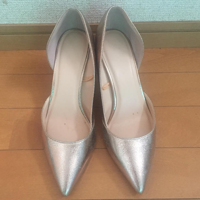 シャンパンゴールドハイヒール レディースの靴/シューズ(ハイヒール/パンプス)の商品写真