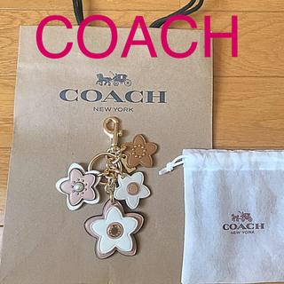 コーチ(COACH)の新品 未使用 COACH チャーム キーホルダー(キーホルダー)