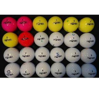 ホンマゴルフ(本間ゴルフ)の④ホンマ D1 24球 ロストボール ゴルフボール(その他)