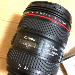 Canon - Canon レンズ EF24-70 F4L IS USM
