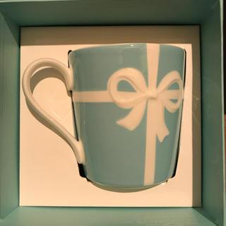 Tiffany & Co. - ティファニー マグカップ 1客 リボン ボックス 未使用品 日本製