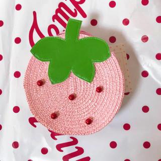 シャーリーテンプル(Shirley Temple)の新品シャーリーテンプル いちごポシェット ピンク(その他)
