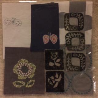 ミナペルホネン(mina perhonen)のミナペルホネン  ハギレ刺繍(生地/糸)