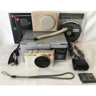 ライカ(LEICA)の超美品♪ ライカ Leica C Typ112 付属品完備 Audi社コラボ♪(コンパクトデジタルカメラ)