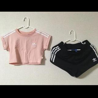 adidas - adidas originals セットアップ ピンク ブラック