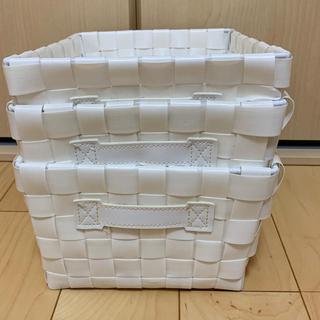 ニトリ - ニトリ バスケット 3個セット