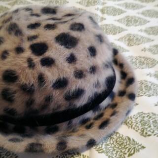 イング(INGNI)のダルメシアン柄 帽子(ハット)