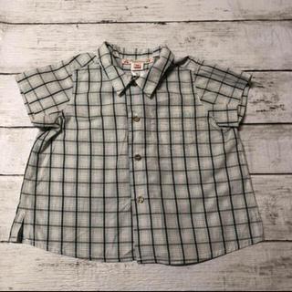 Bonpoint - 【お値下げ中】 ボンポワン  チェックシャツ