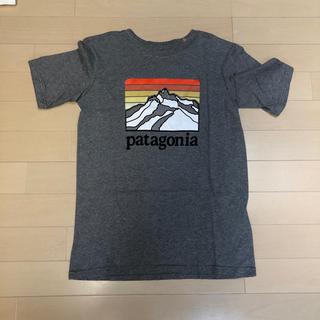 patagonia - patagonia  パタゴニア ボーイズ Tシャツ ロゴ